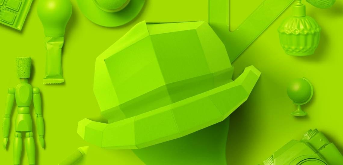 6کلاه فکری: کلاه سبز