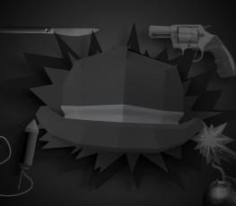 6 کلاه فکری: کلاه سیاه