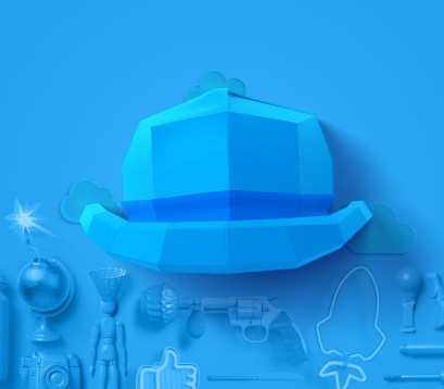 6کلاه فکری: کلاه آبی